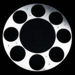 Werkstück für Rundtaktmaschine - Aluminium Ø 620mm, 8x130N7